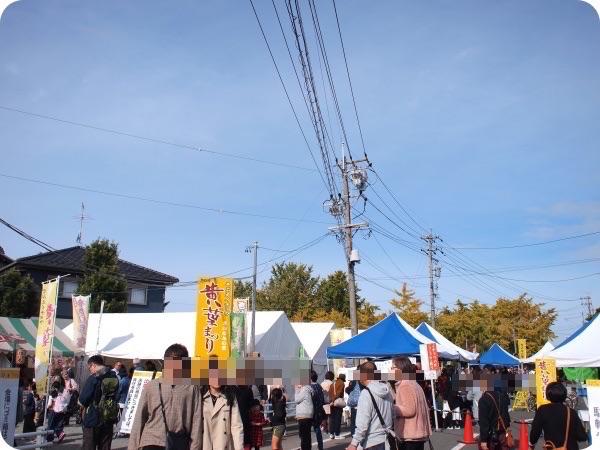 祖父江の銀杏祭り・山崎会場