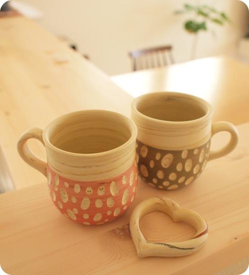憲児陶苑マグカップ