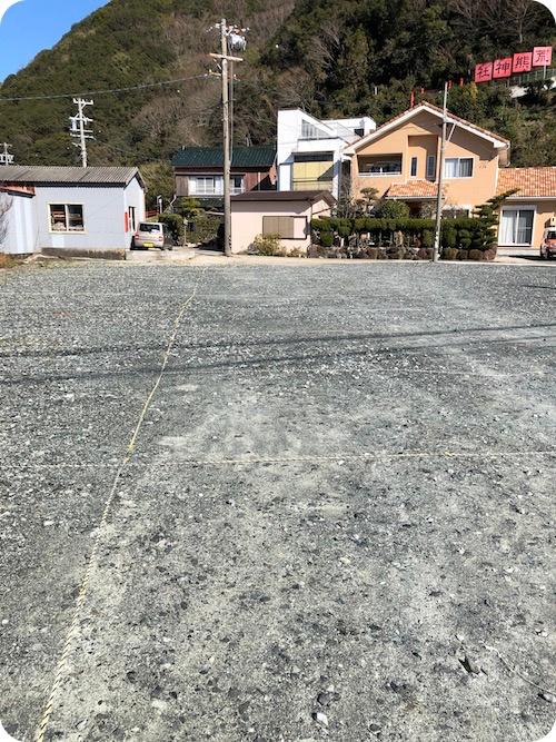 南知多・内海・荒熊神社の駐車場