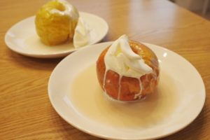 ハニーバター・焼きリンゴ