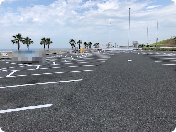 常滑市りんくうビーチ駐車場