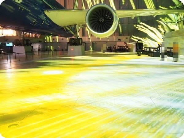 フライトオブドリームス・チームラボ・プロジェクションマッピング